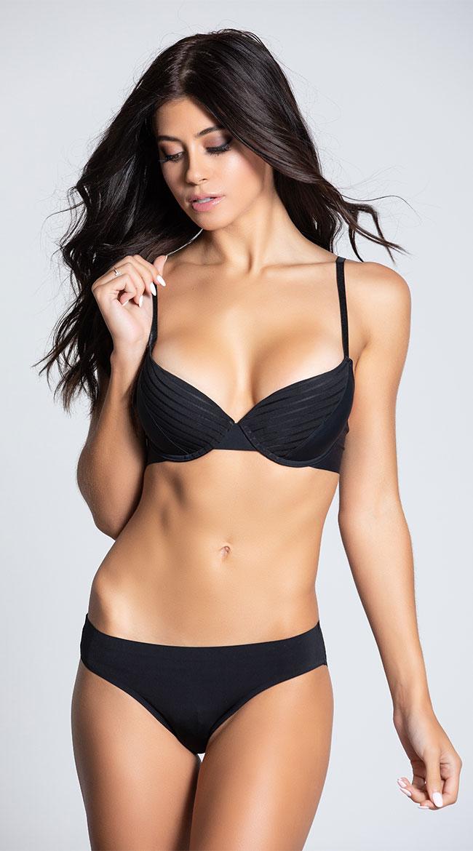 Yandy Flip Side Black Bikini Panty by Yandy Rene Rofe