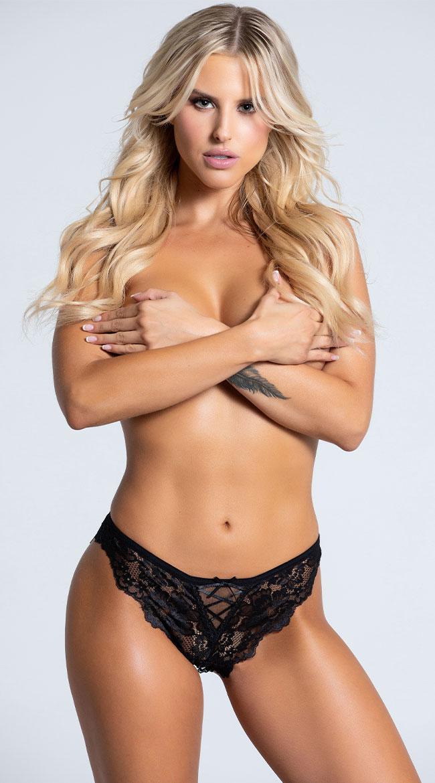 Yandy High Cut Bikini Panty by Yandy STM