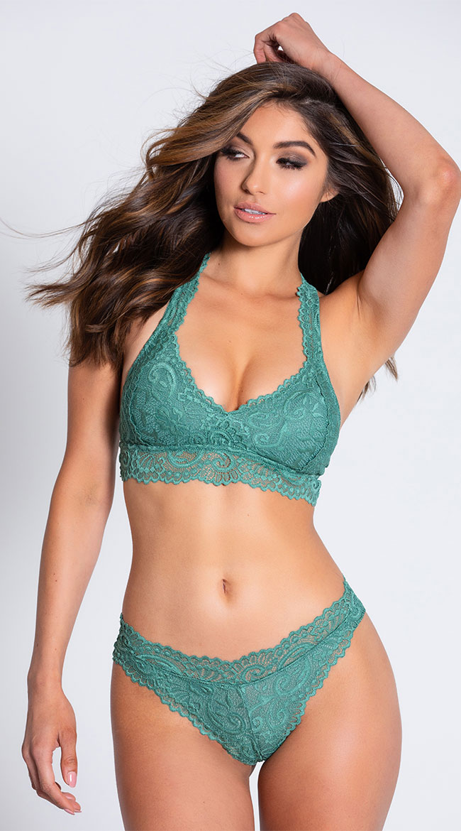 Yandy Never Let Me Go Green Thong by Yandy Rene Rofe
