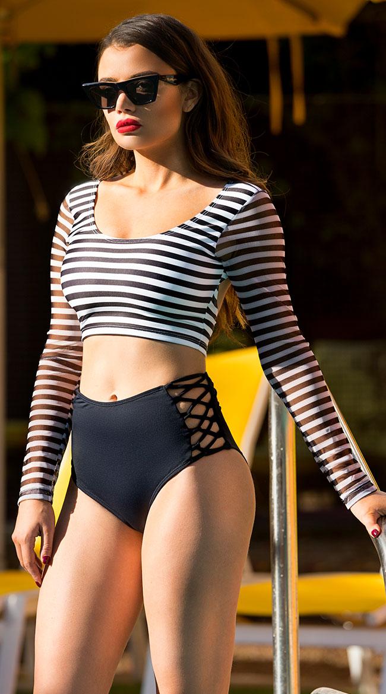 Yandy Parisian Swim Top by Espiral Yandy