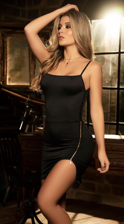 Zip It Mini Dress by Mapale